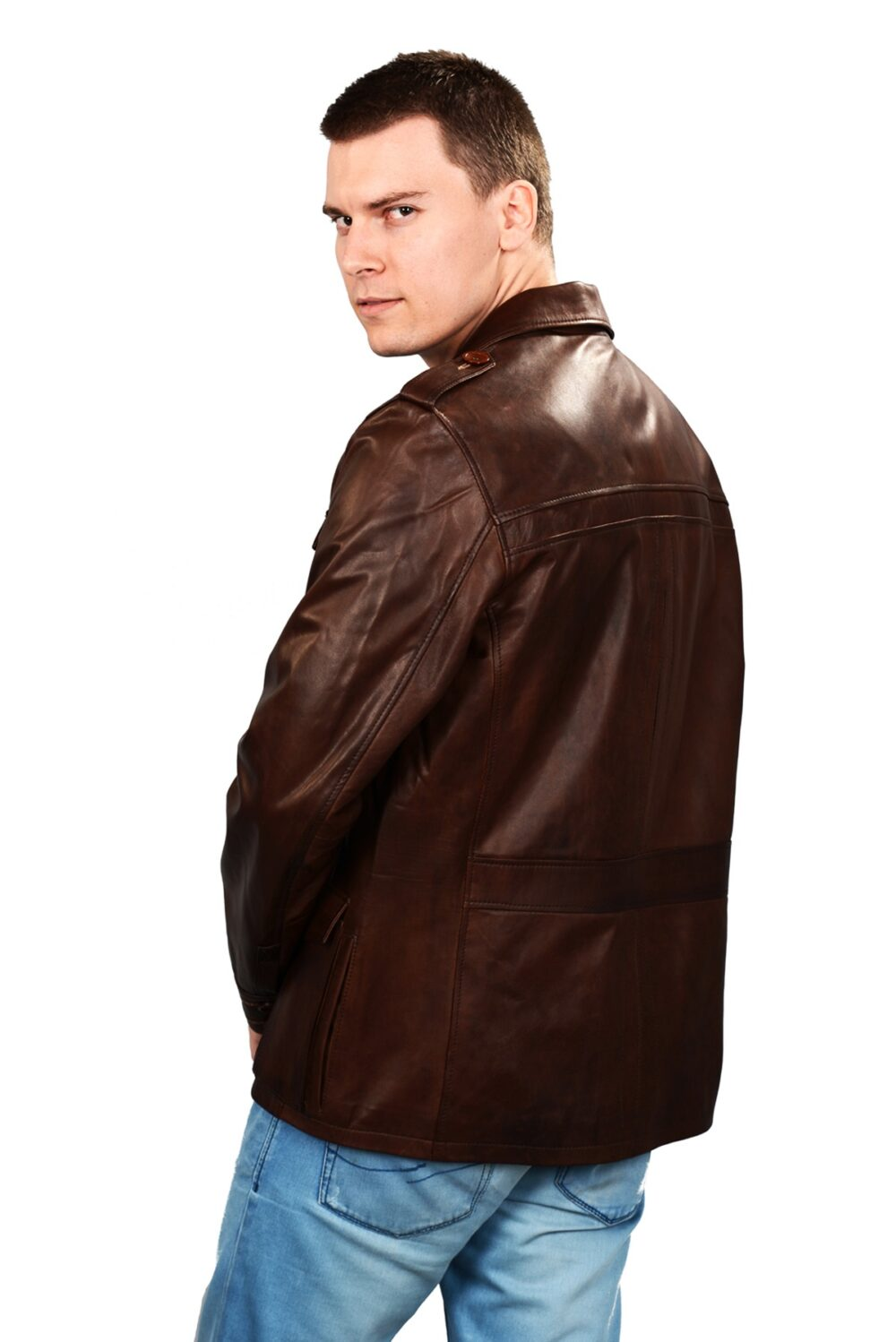real leather jackets mens cheap