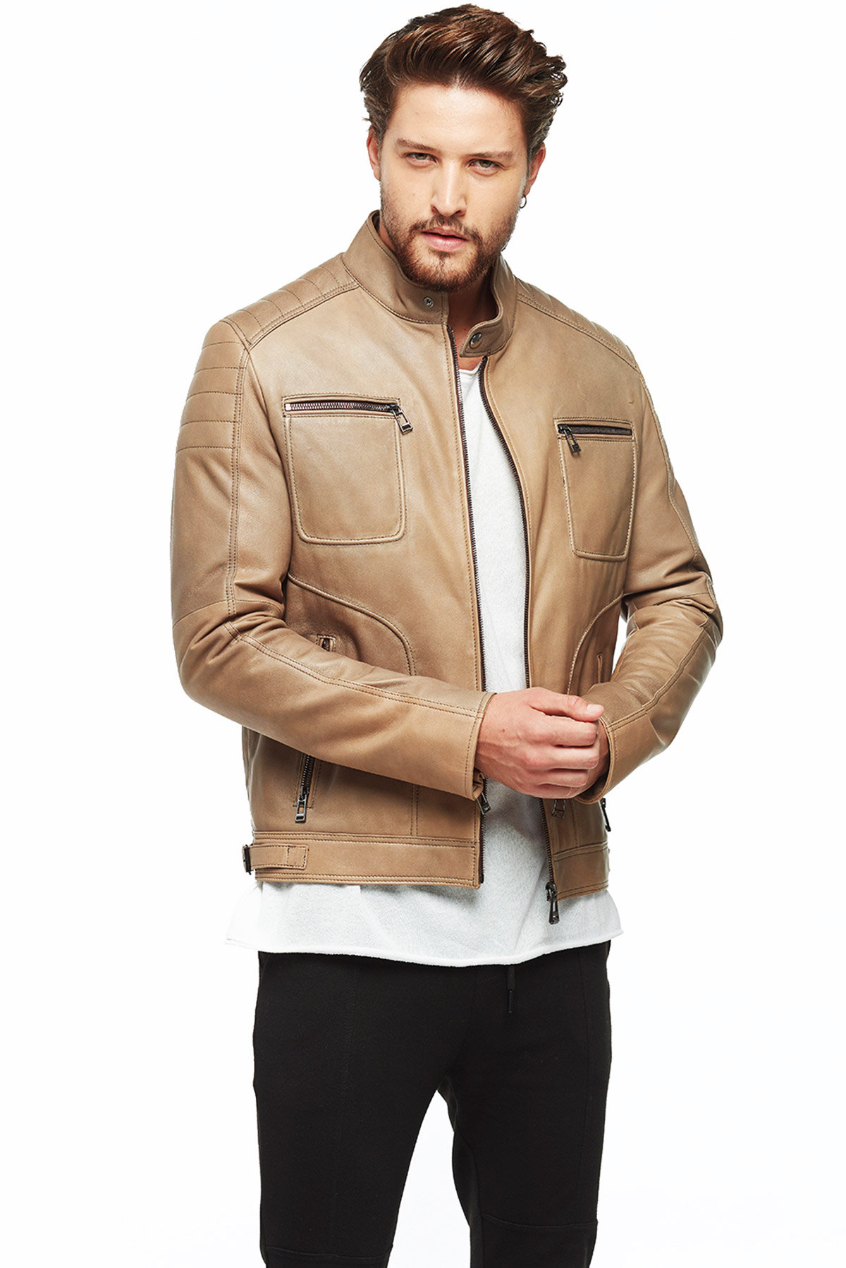 cool leather jackets mens