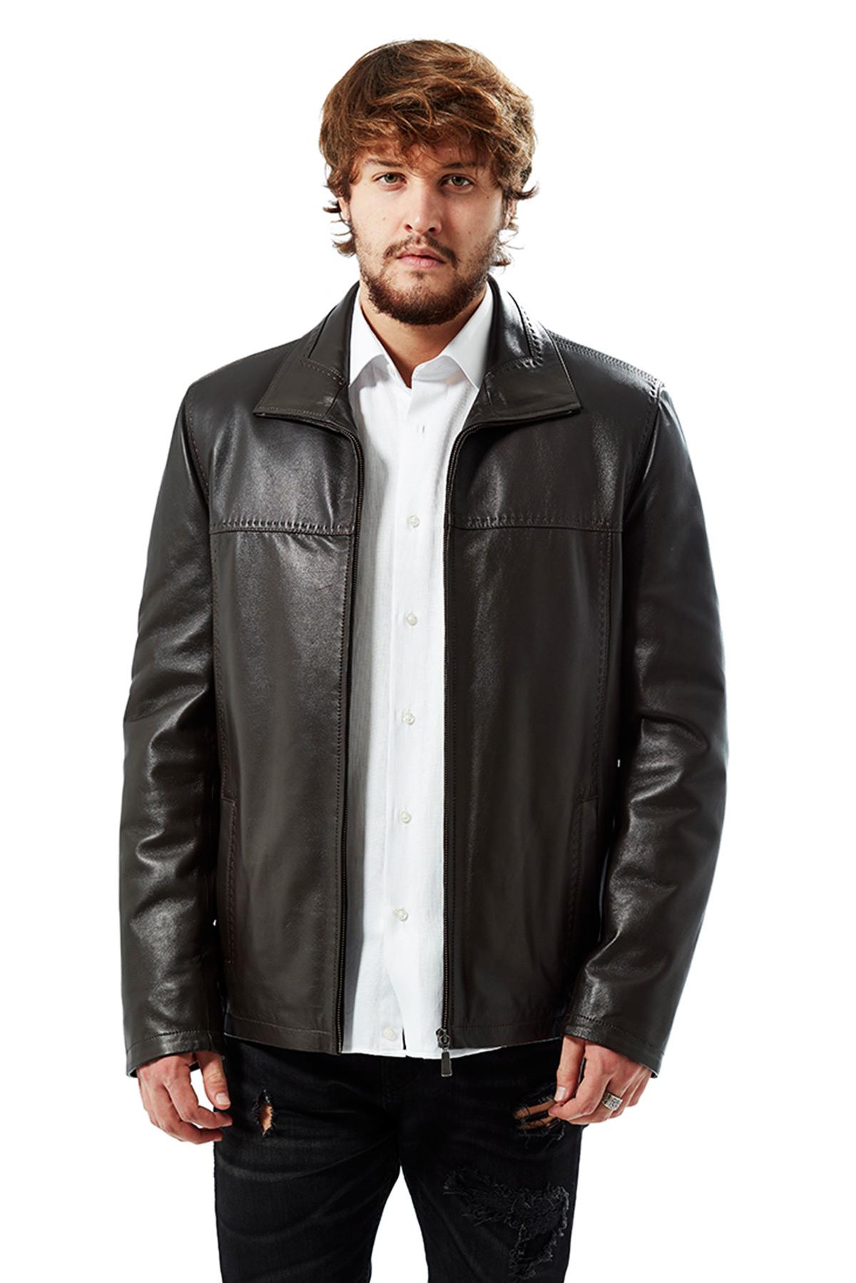 leather jacket men online