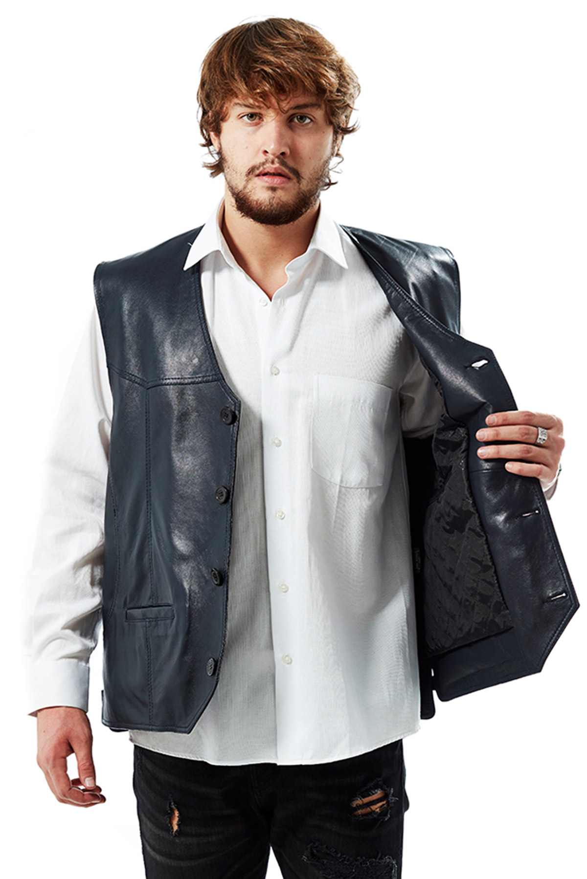 affordable men's leather jackets