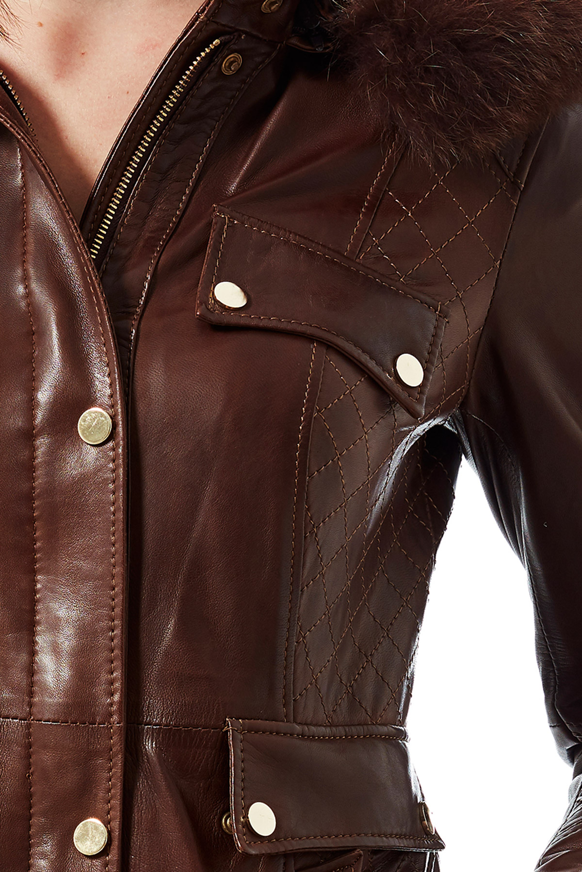 real leather jacket womens sale