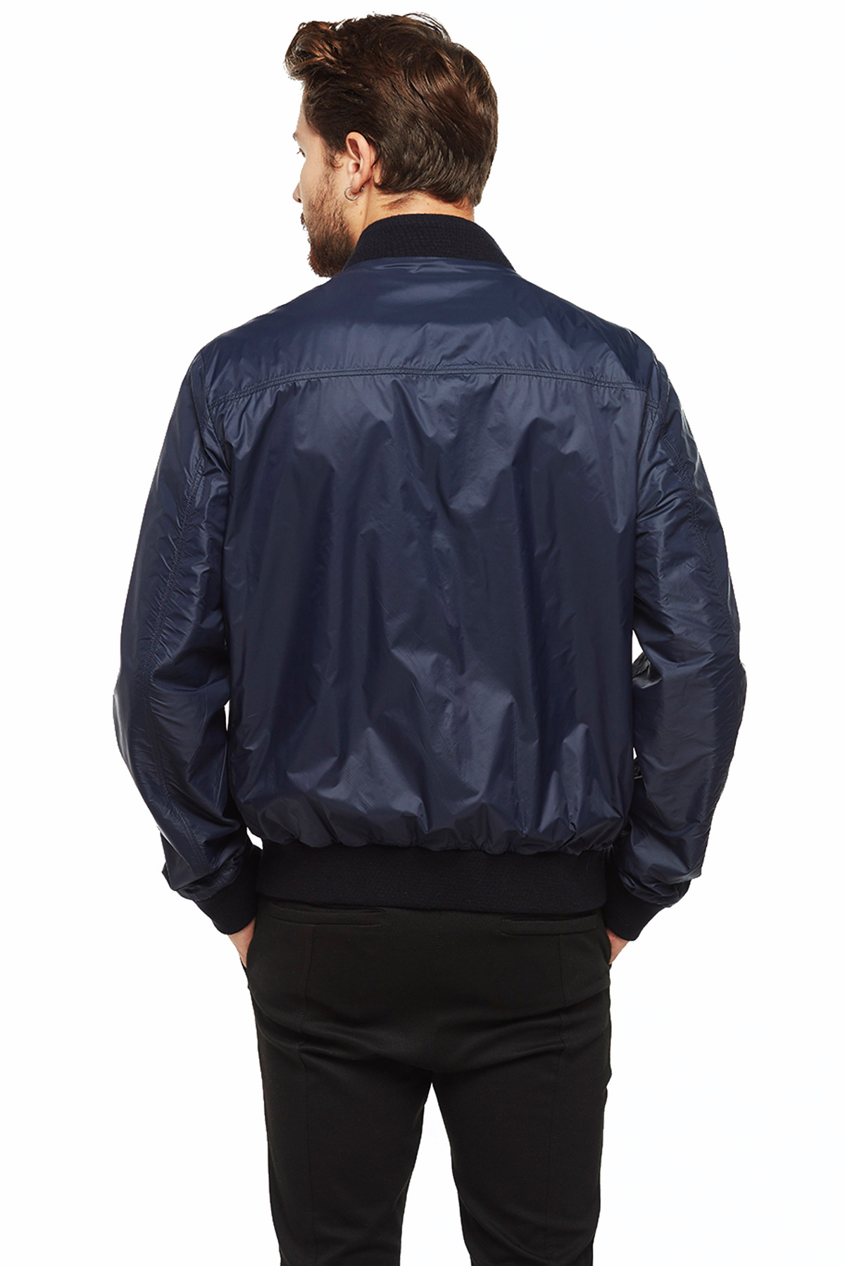 real leather jacket river island