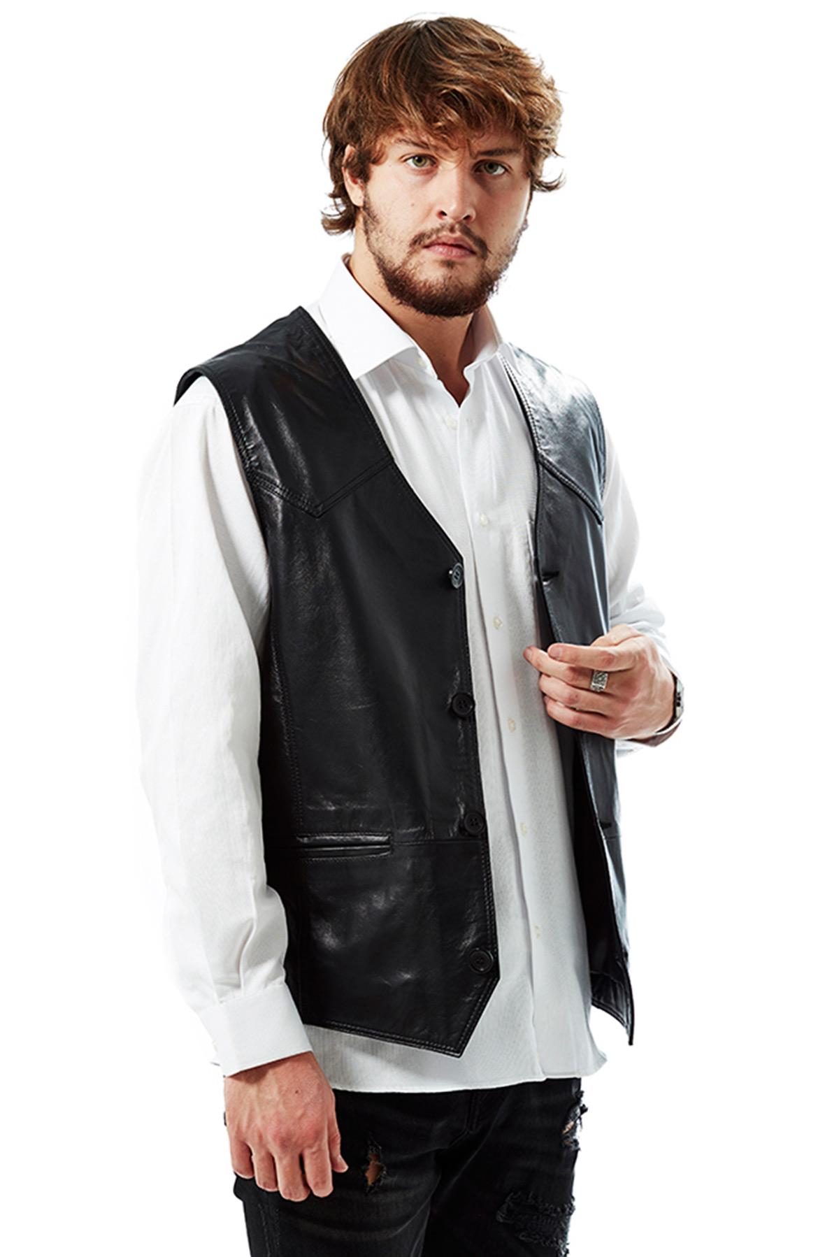 genuine leather jacket mens nordstrom