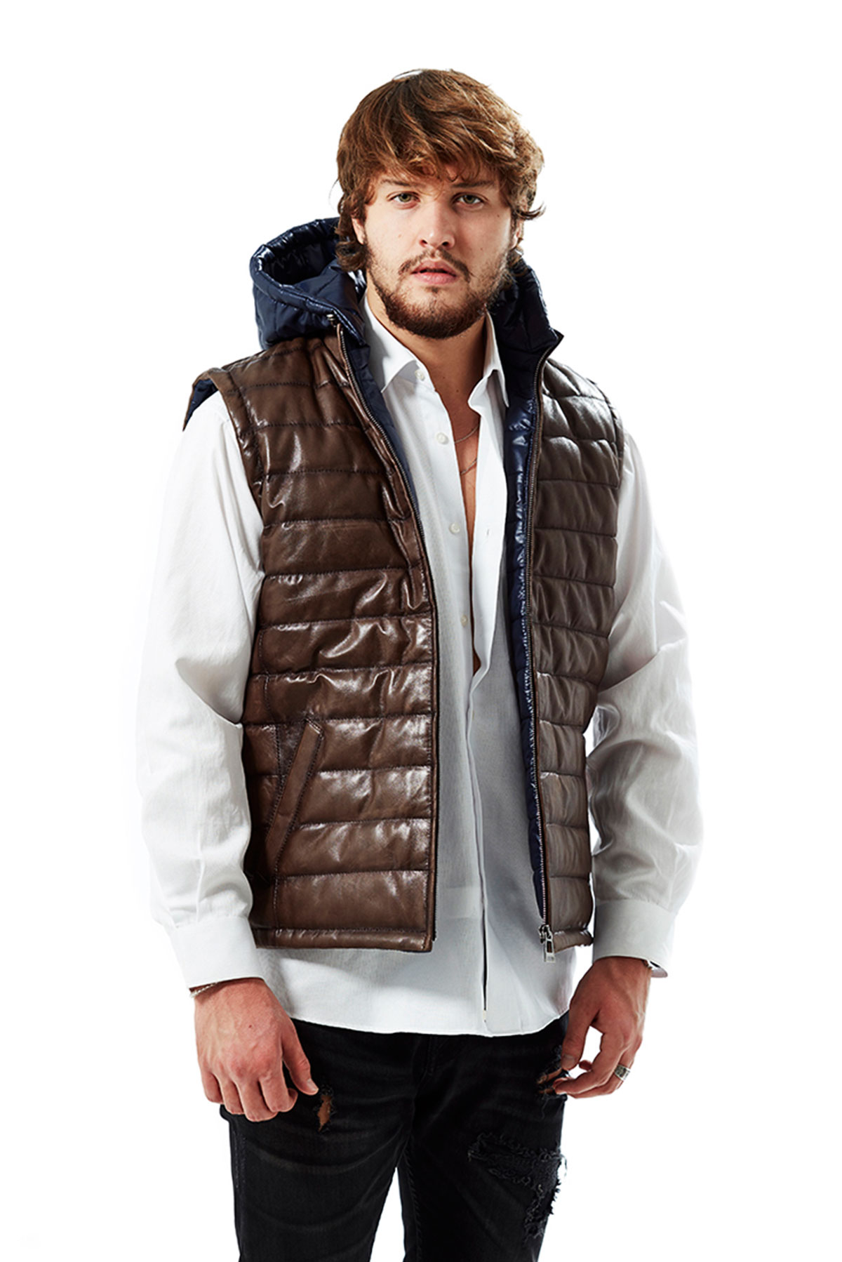 patent leather jacket mens