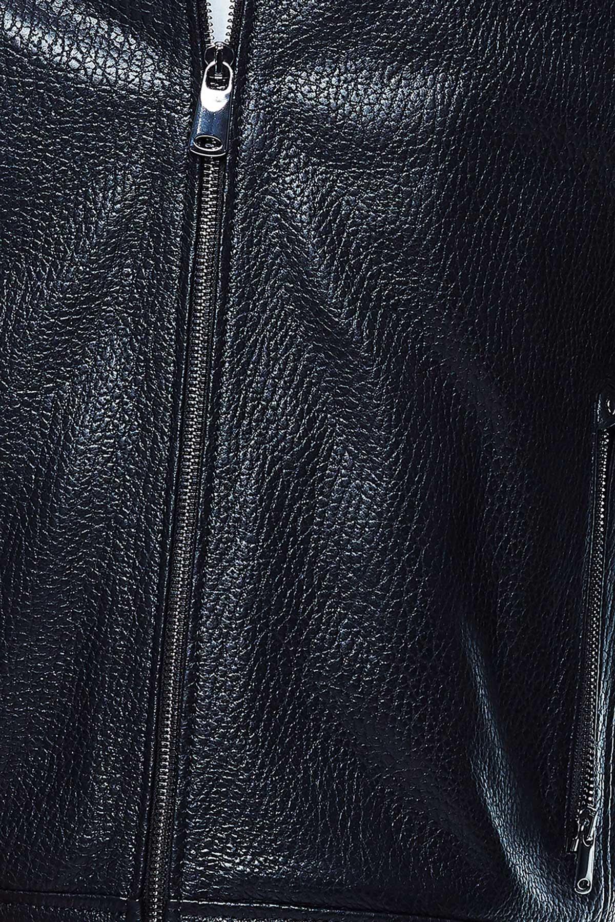 pilot style leather jacket