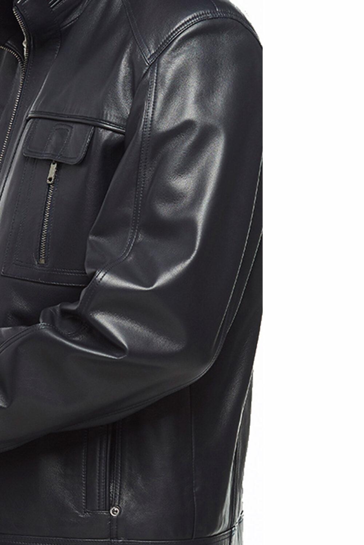 black leather jacket xl