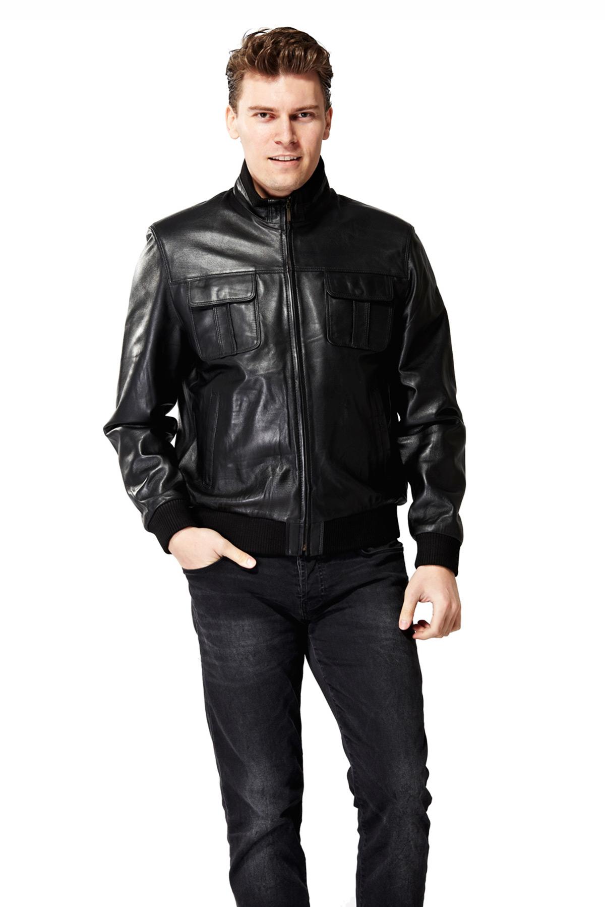 look jacket in black