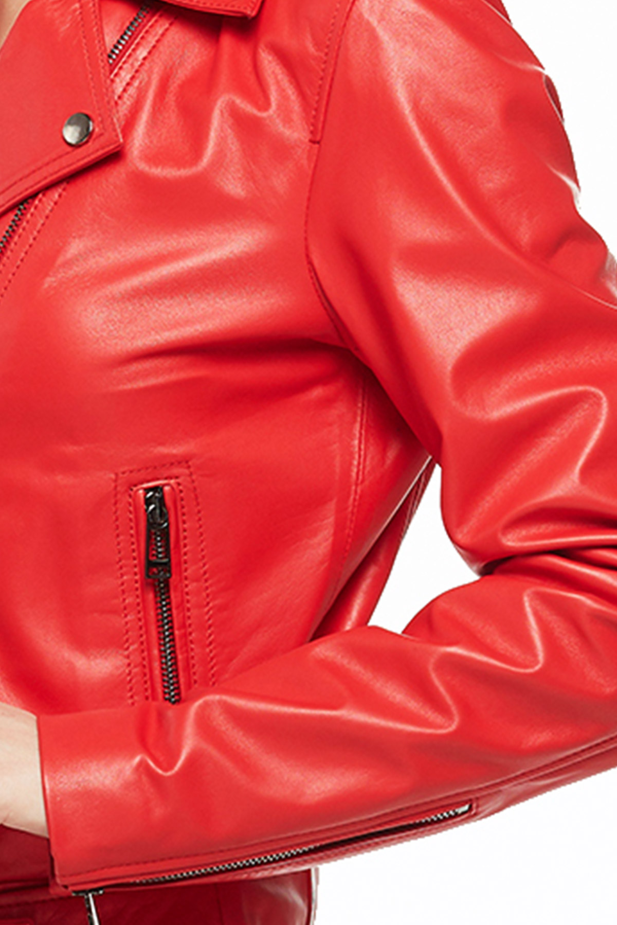 nordstrom leather jacket with hood