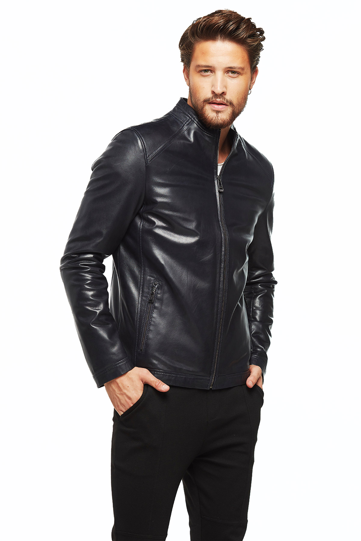 leather jackets male