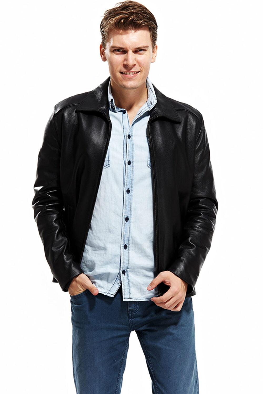 leather jacket coat
