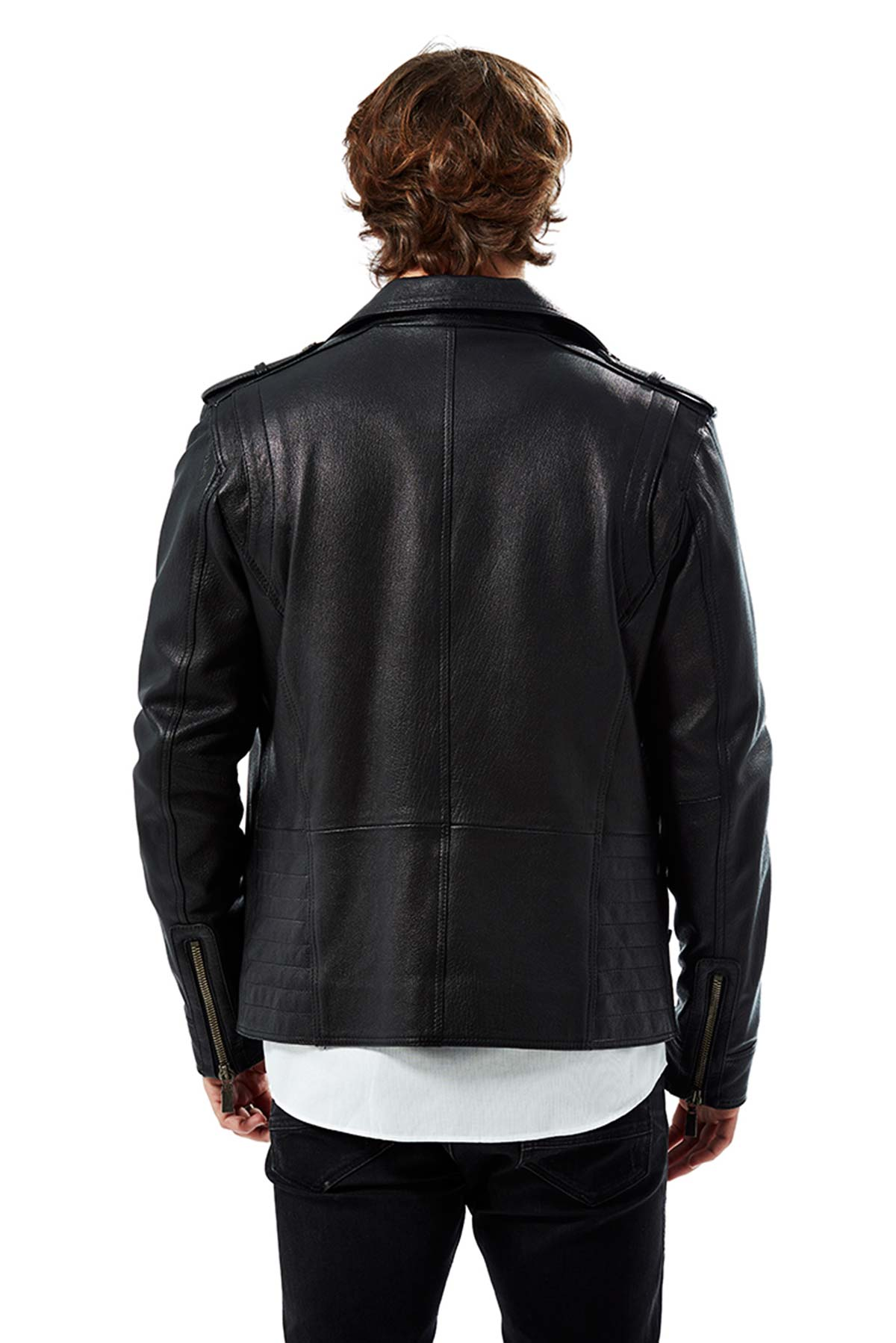lightweight leather jackets mens