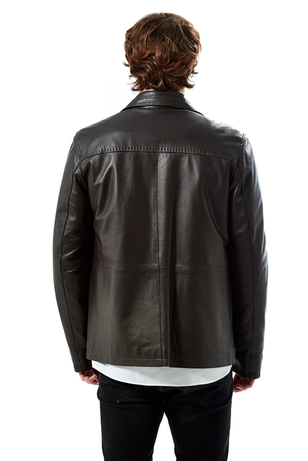 Kopia Retro Classic Men's Leather Jacket