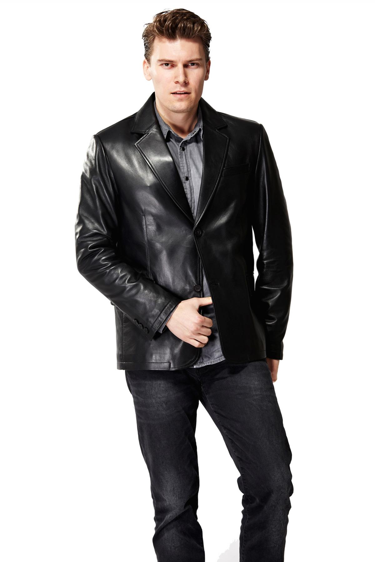 leather coat near me