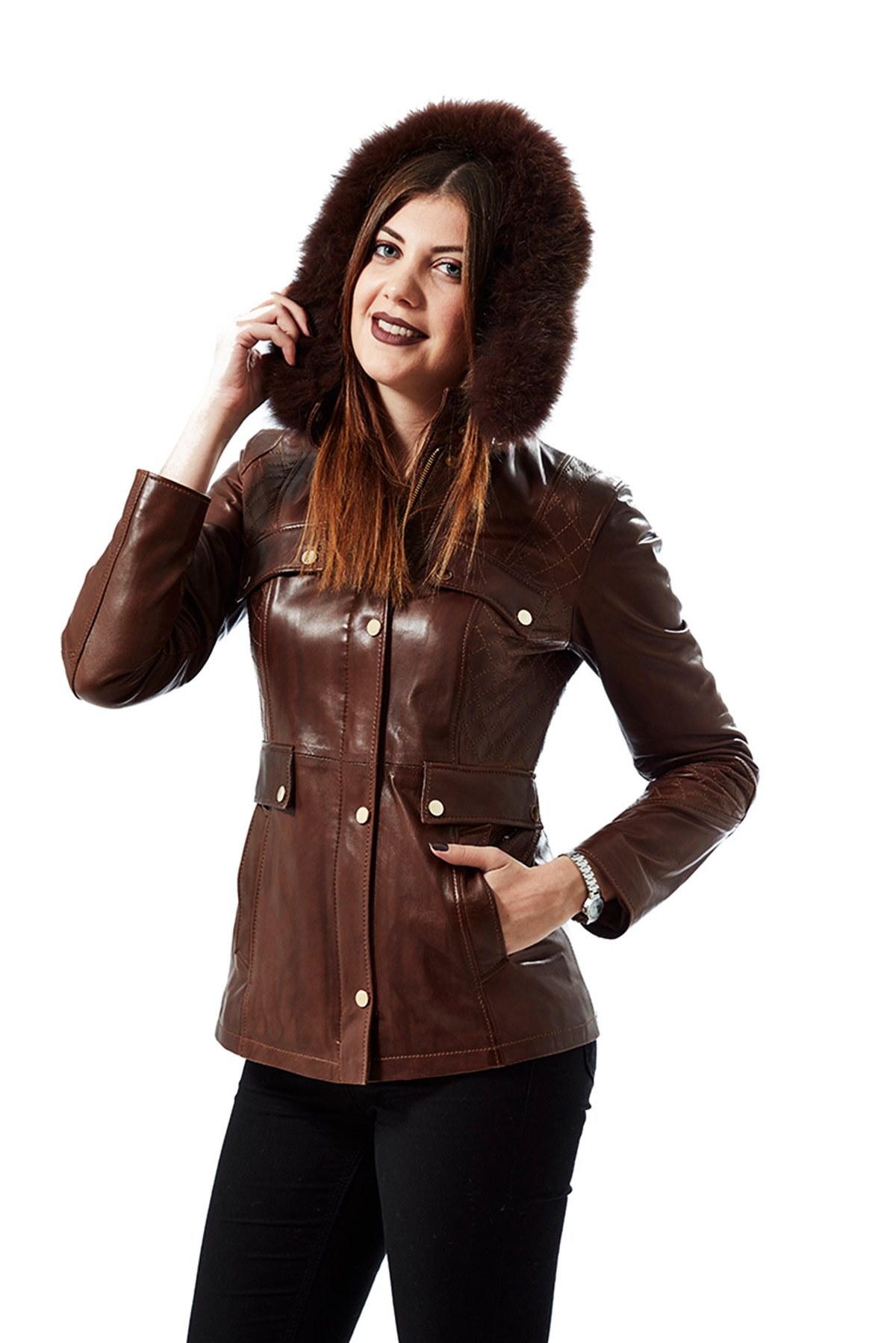 real leather jackets women's sale