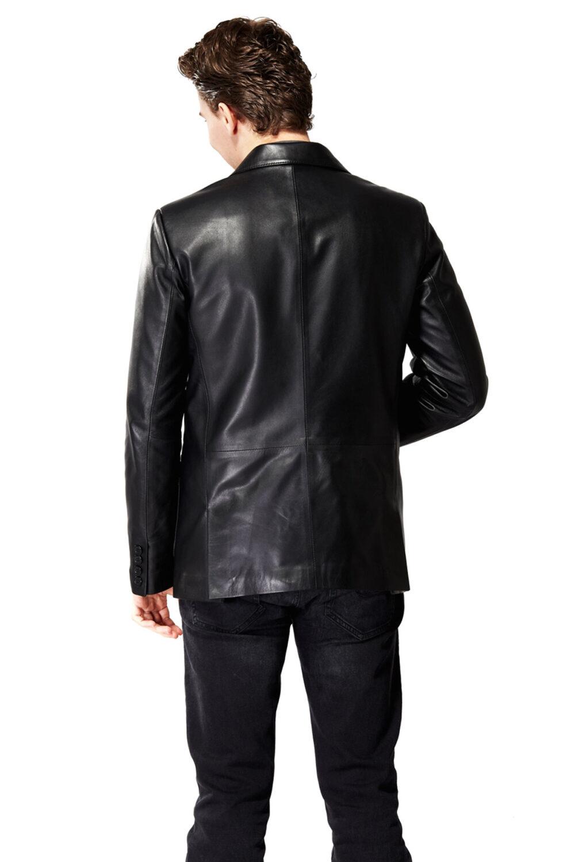 loewe leather jacket mens