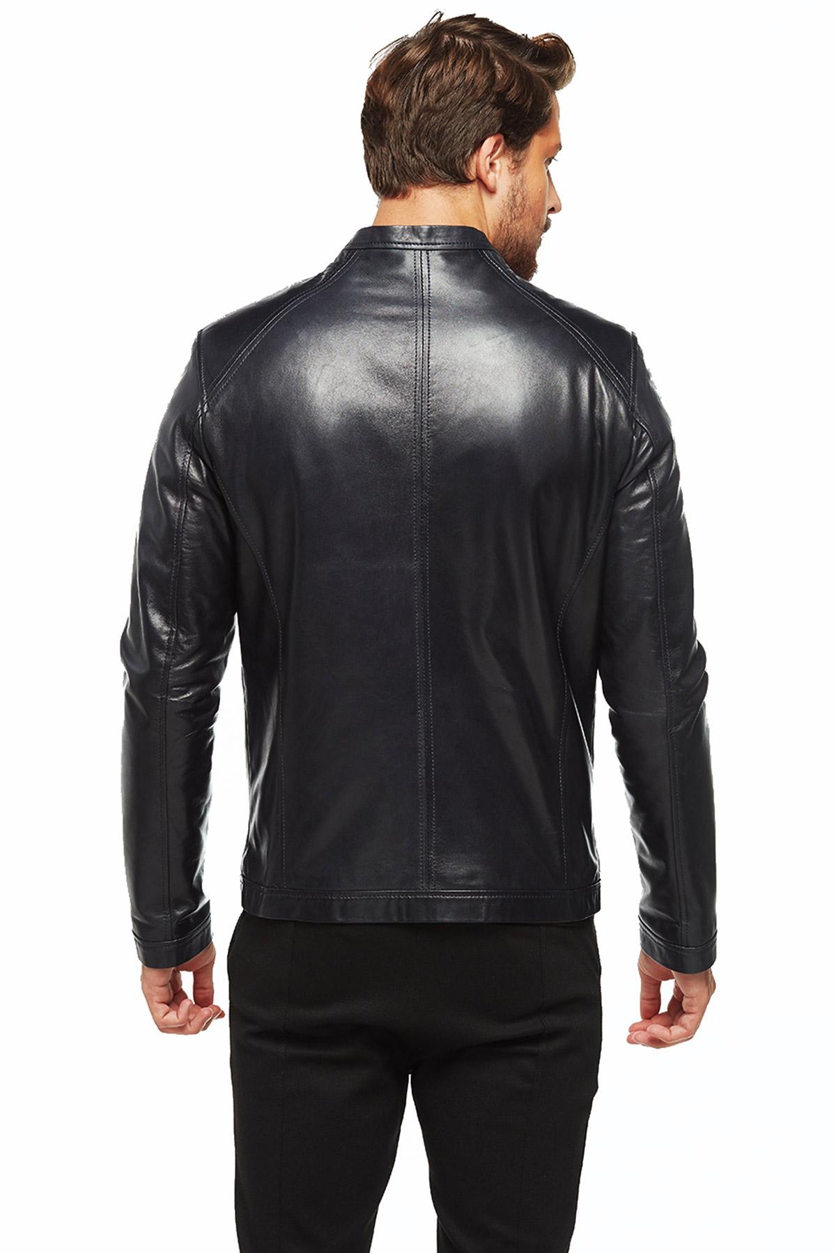leather dress jacket