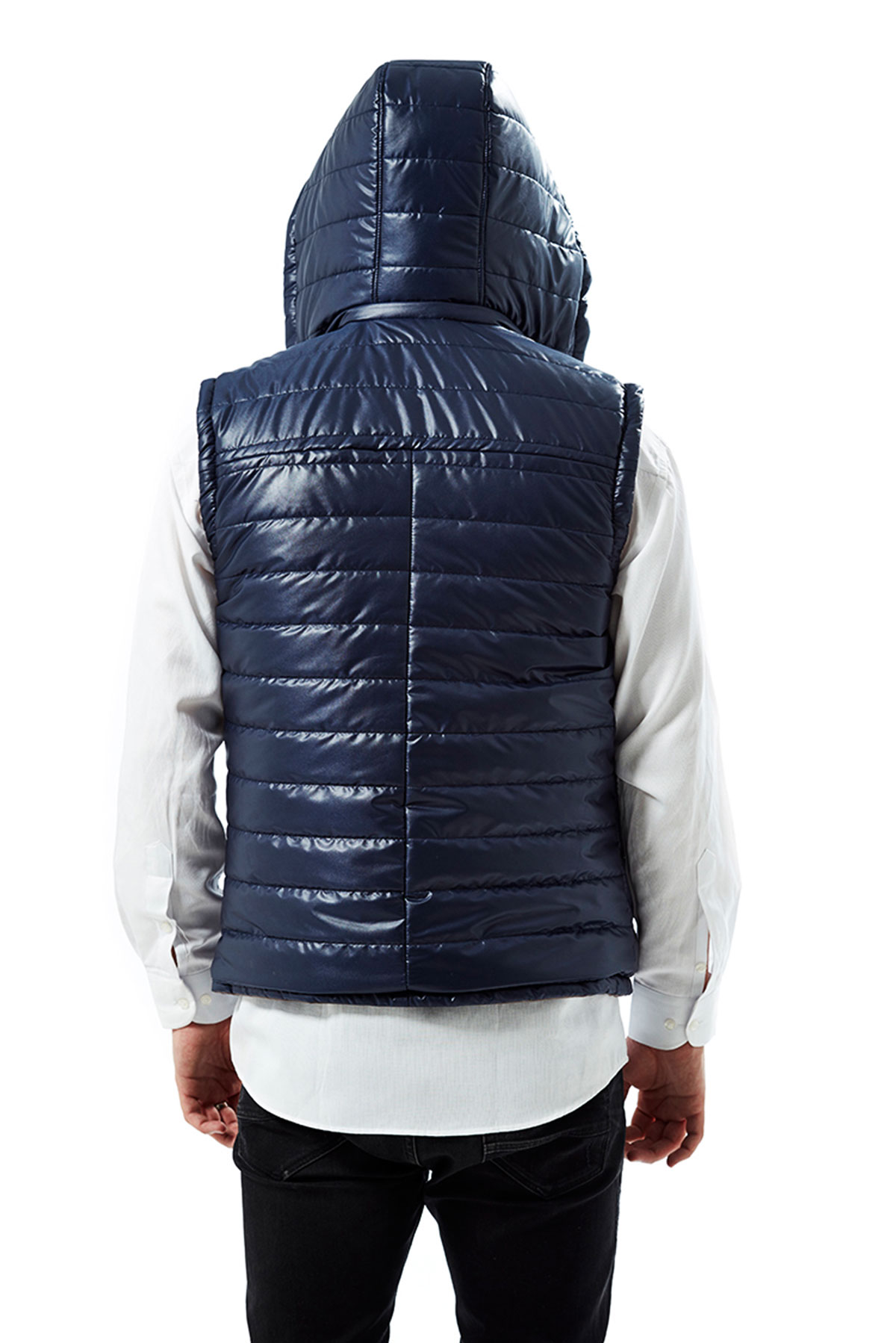 mens quilted leather jacket