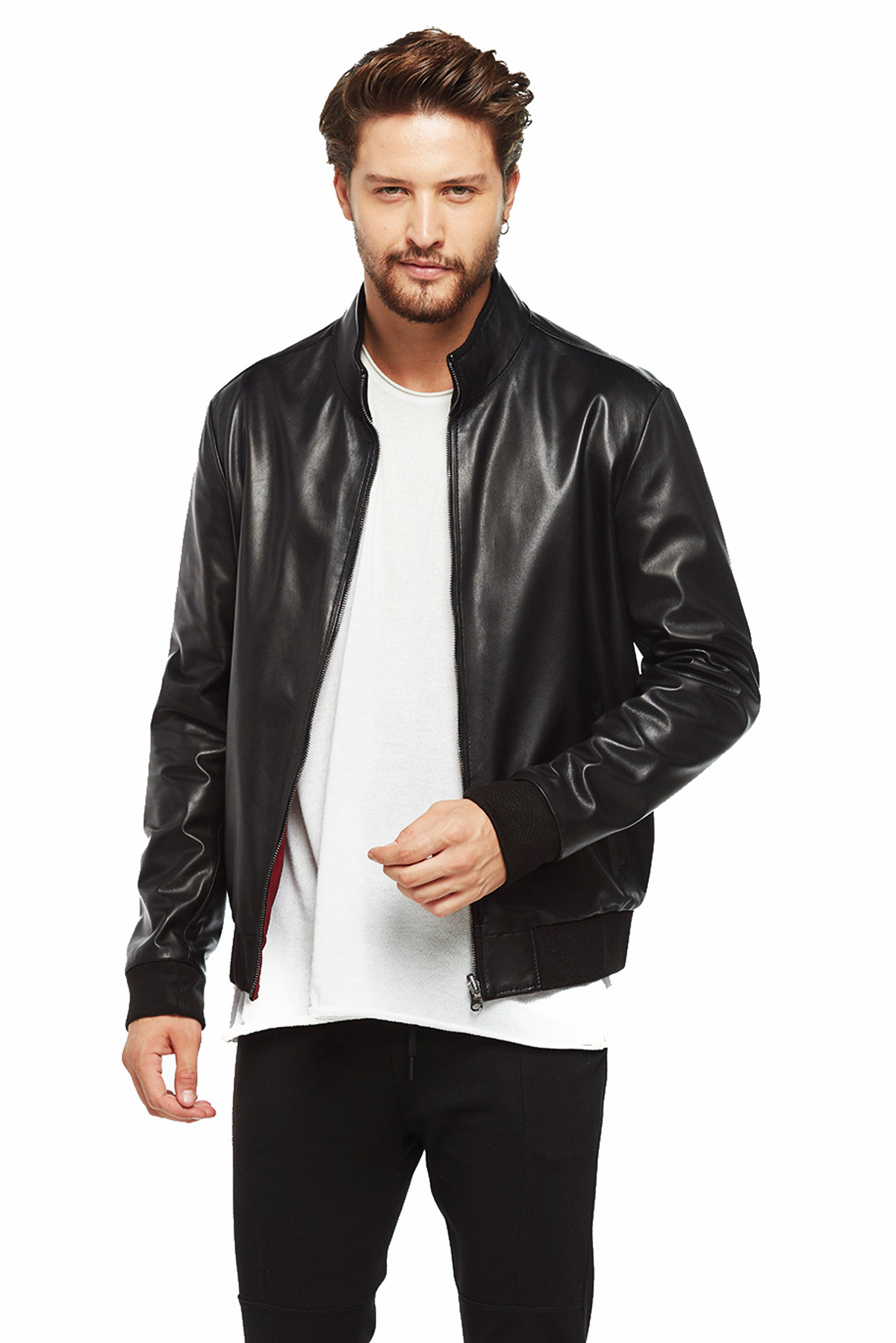 real leather jacket mens sale