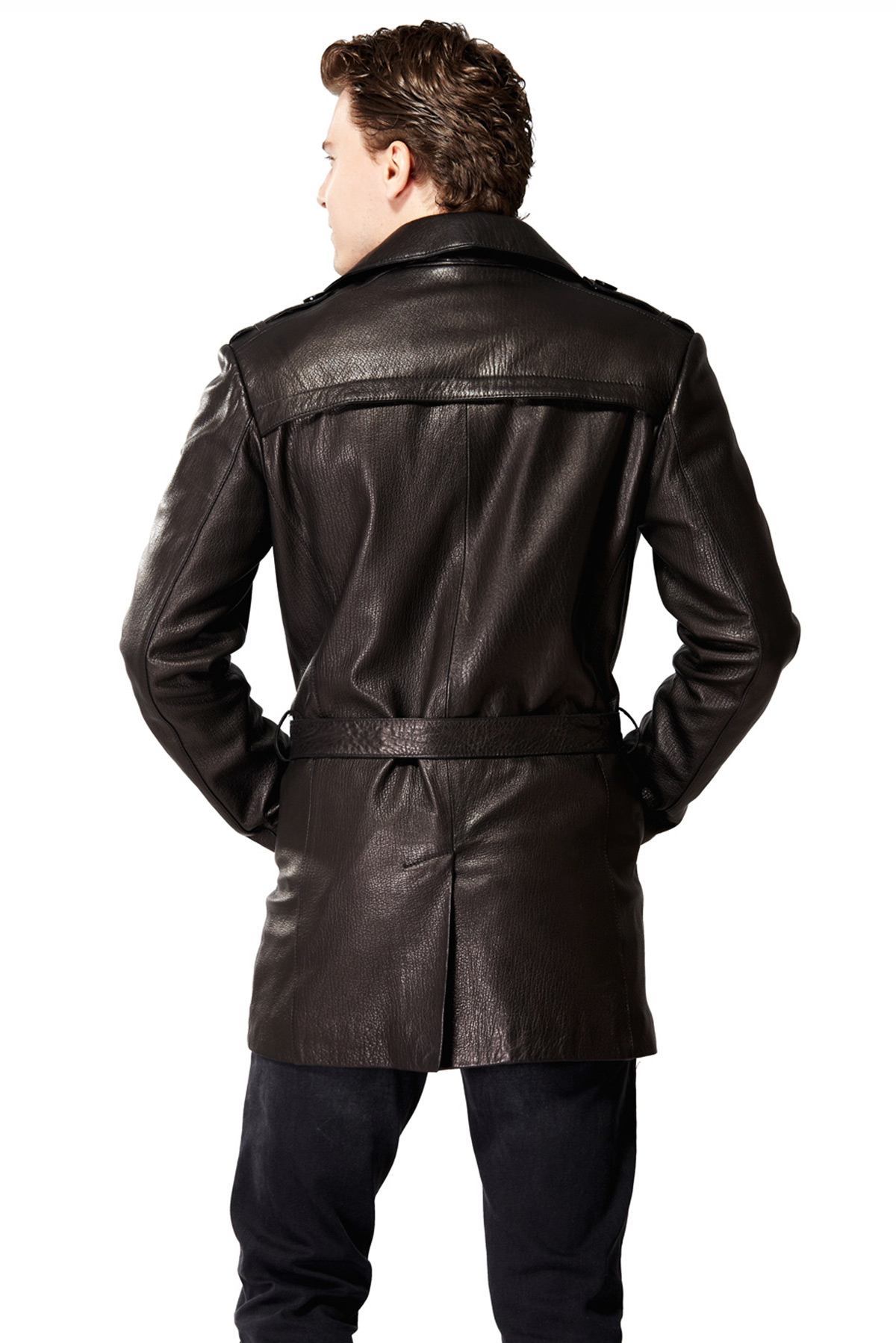genuine leather jackets for mens