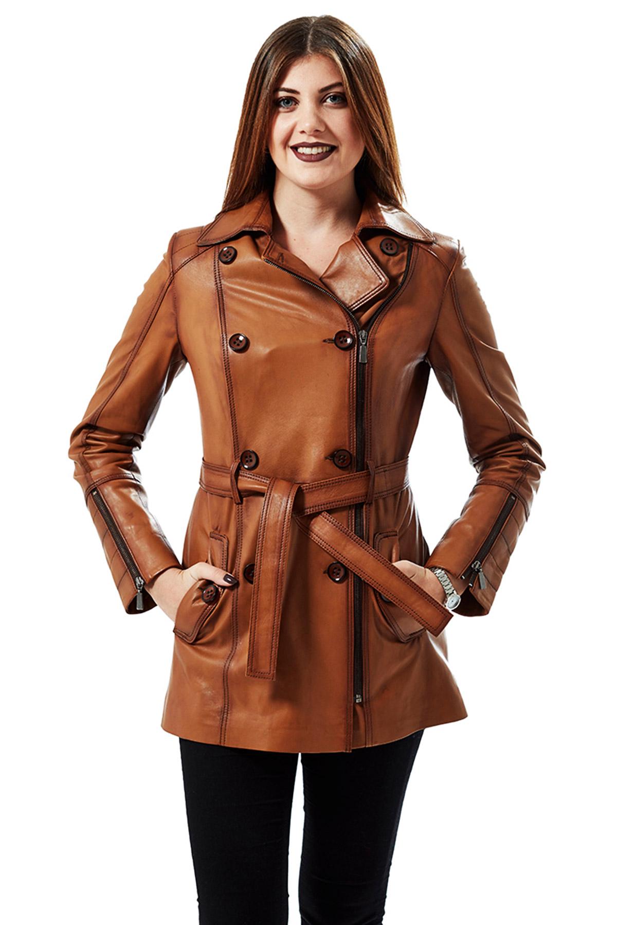 authentic leather bomber jacket