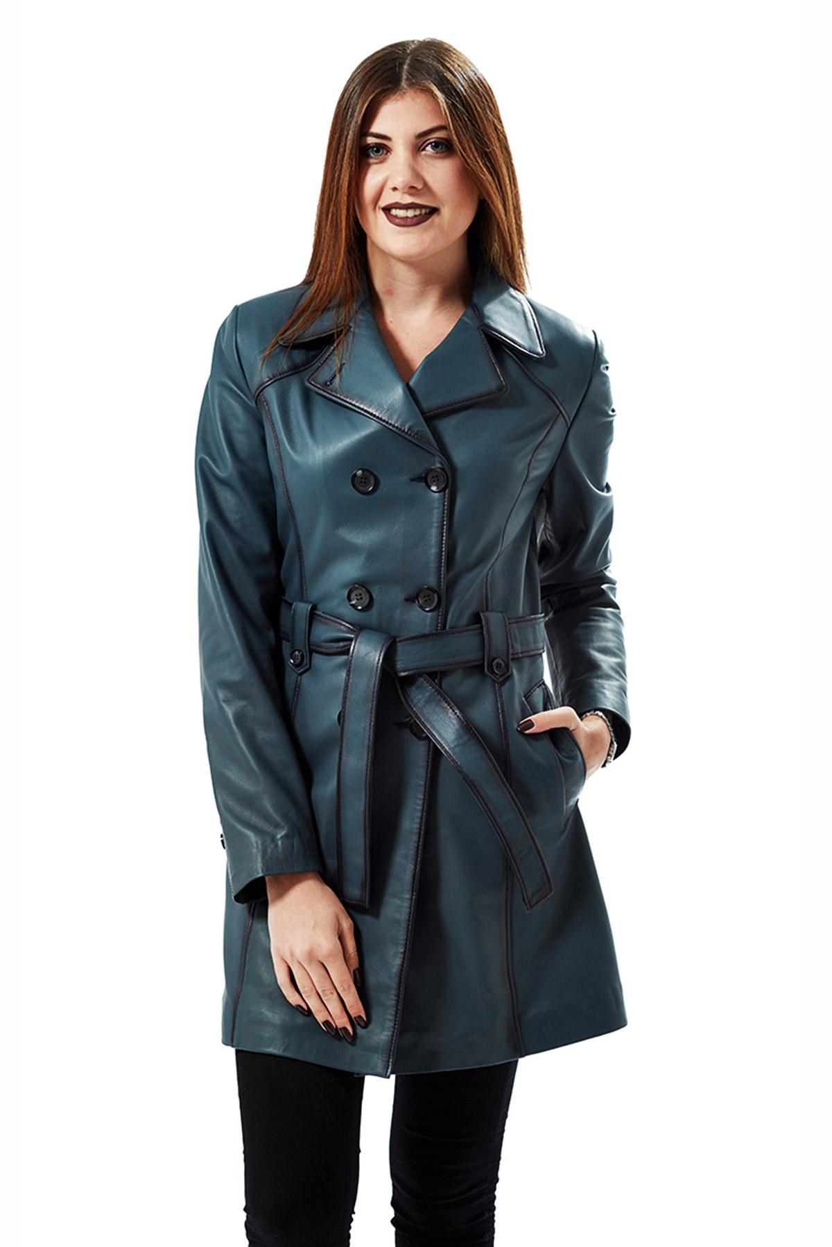 paul smith blue leather jacket