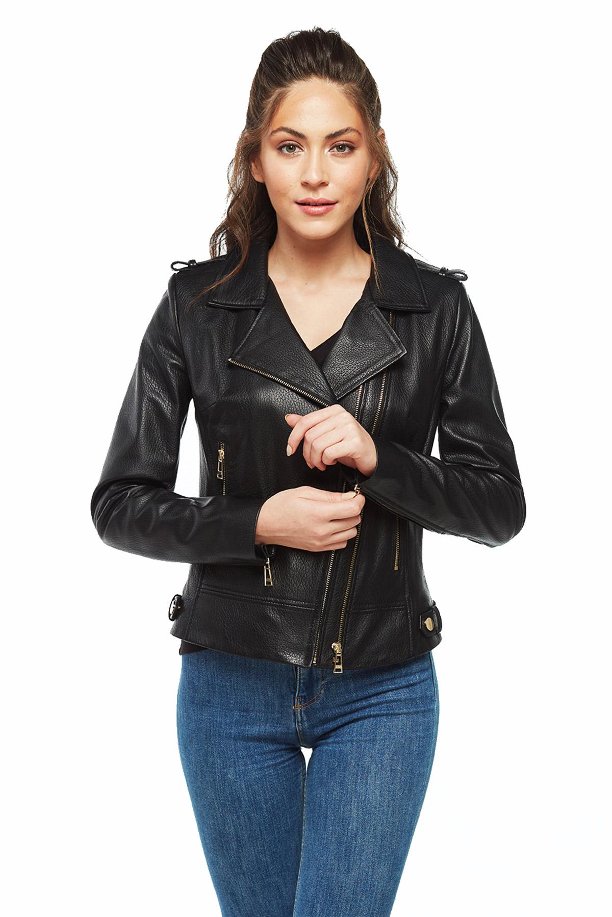 brown loewe leather jacket