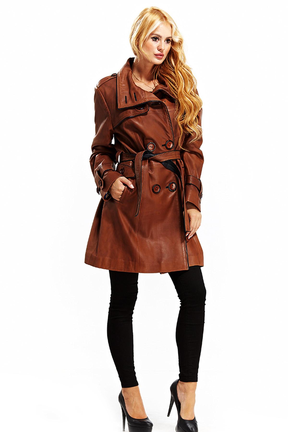 women's lambskin leather blazer