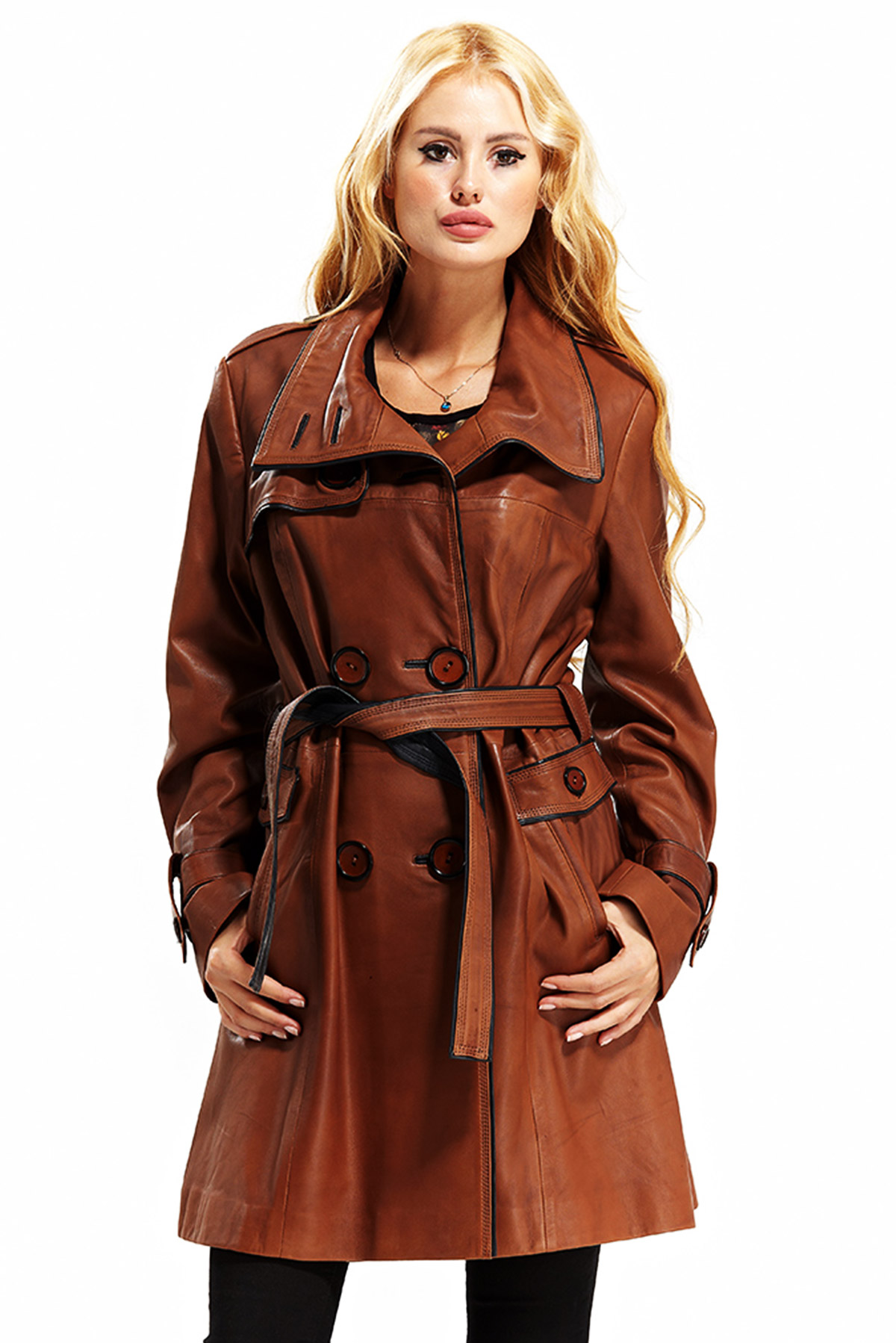 leather jacket women's