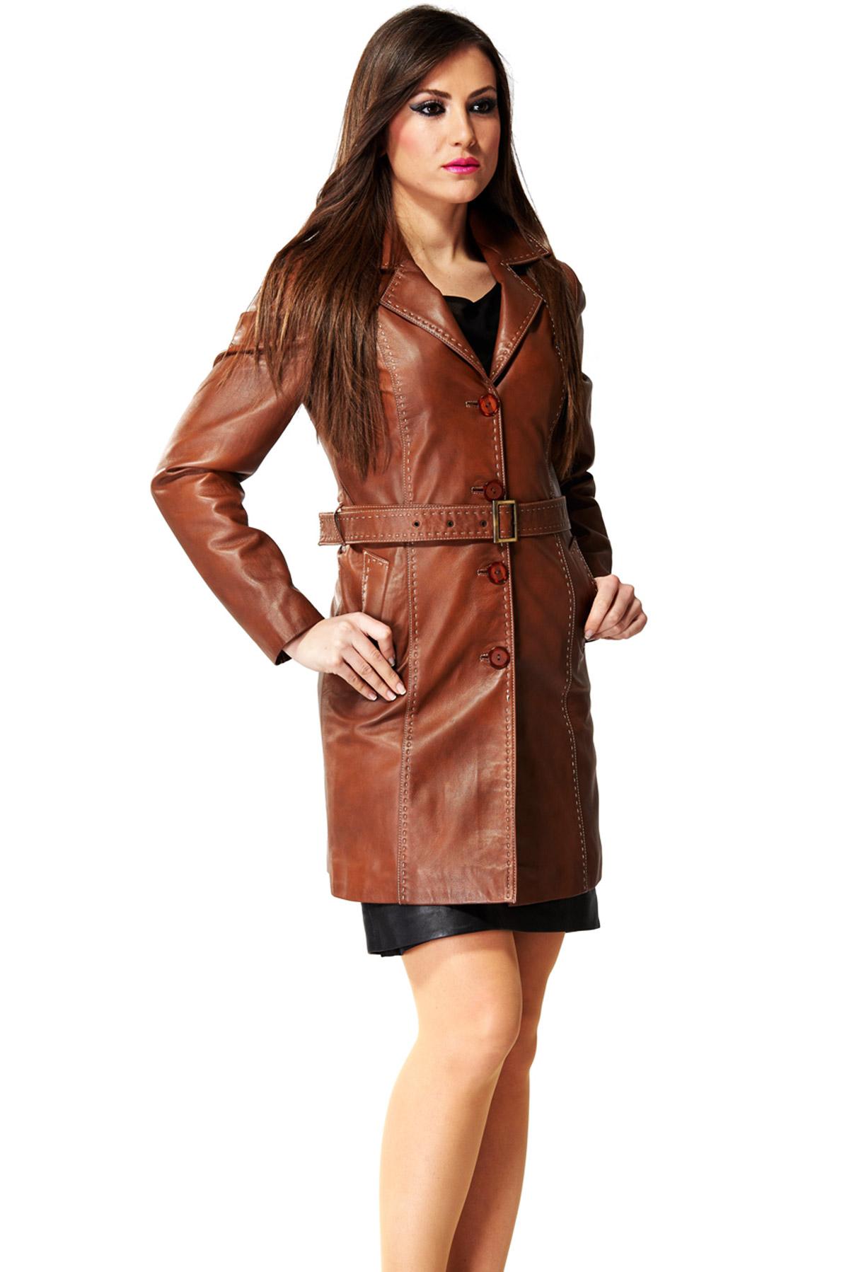 brando brown leather motorcycle jacket