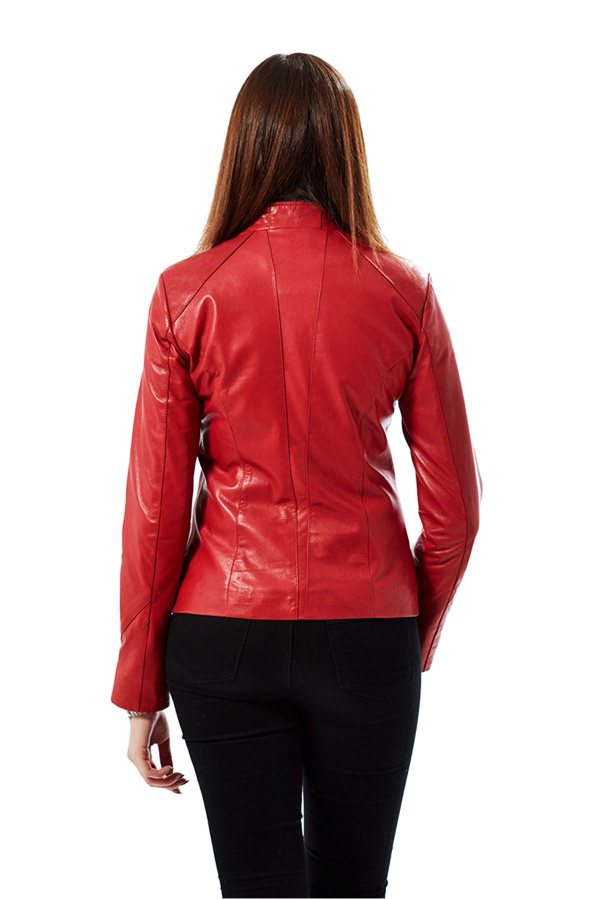 echo genuine leather jacket