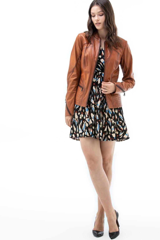 Fendi Leather Jacket Womens