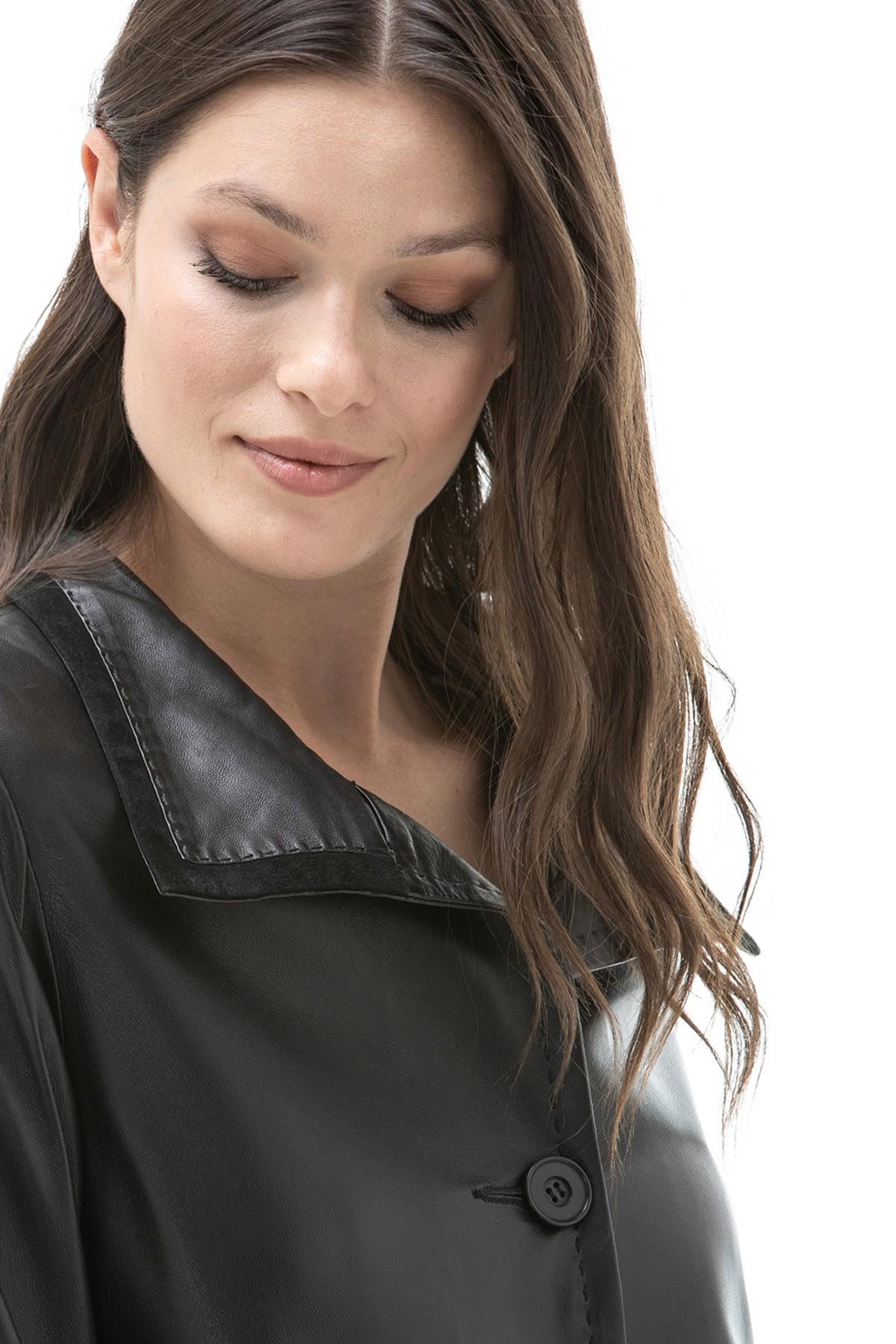 buy leather coat