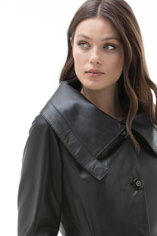 Ladies Leather Coats On Sale