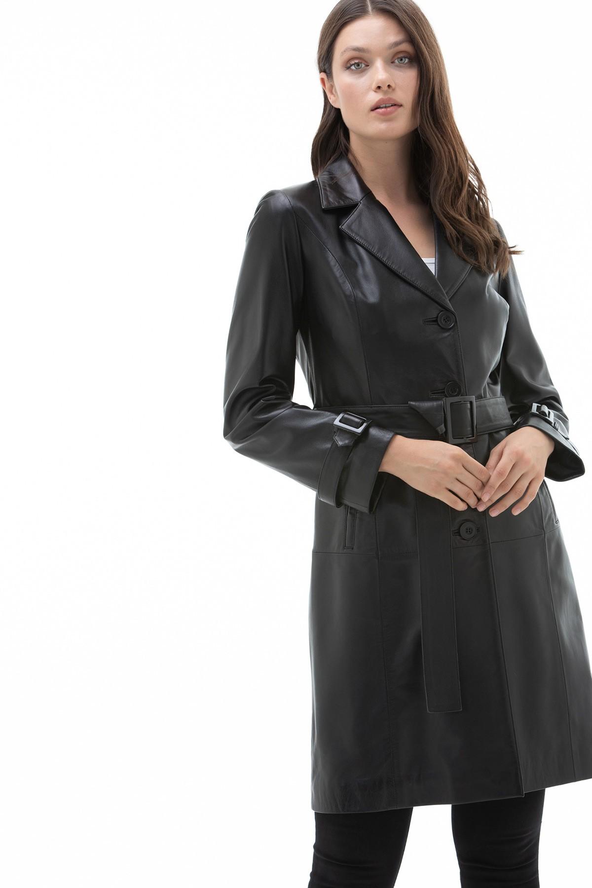 Women's Lambskin Leather Coats