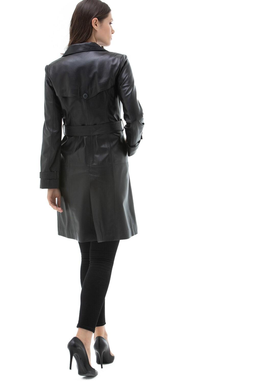 Leather Blazers Womens