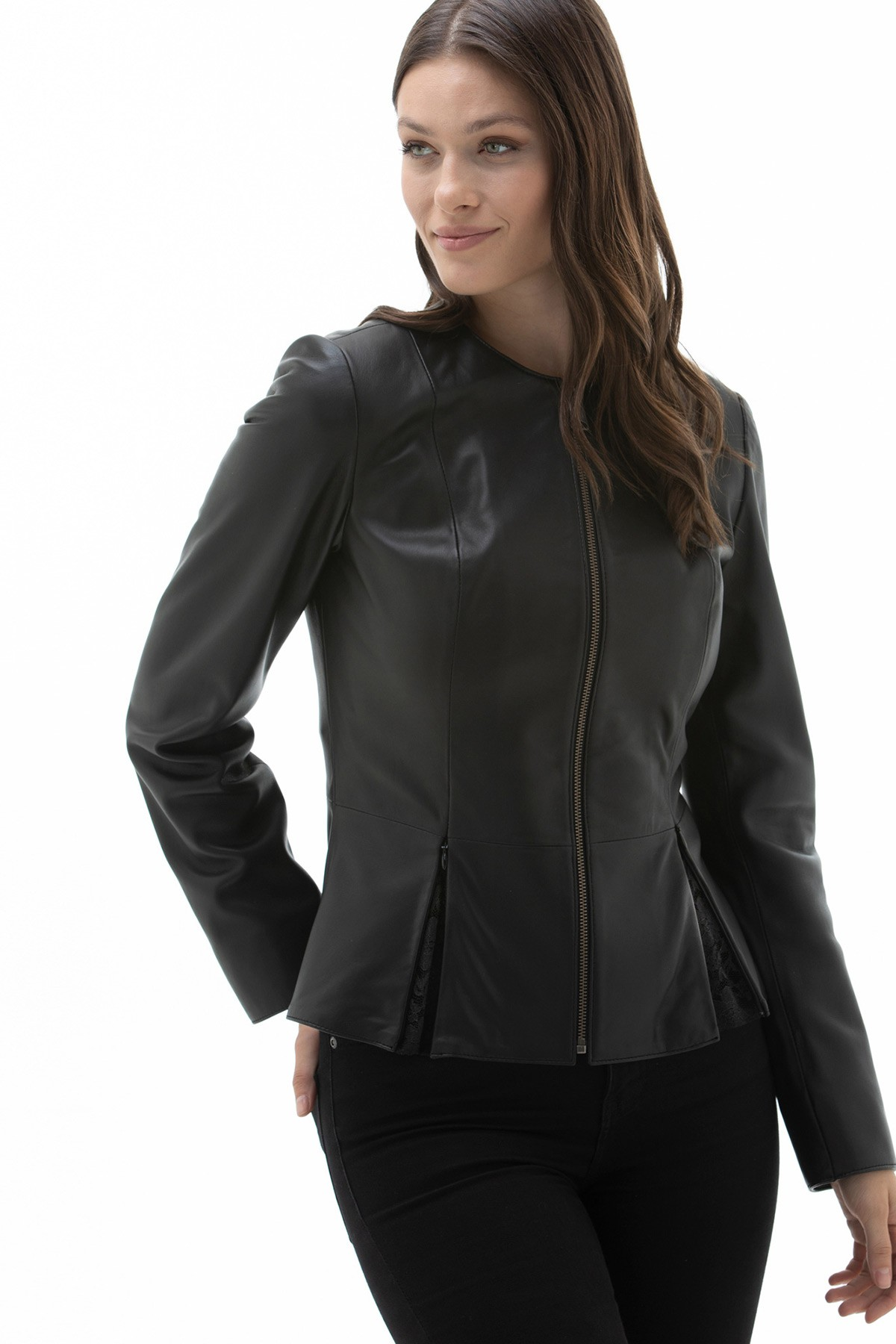 Matte Black Bomber Jacket