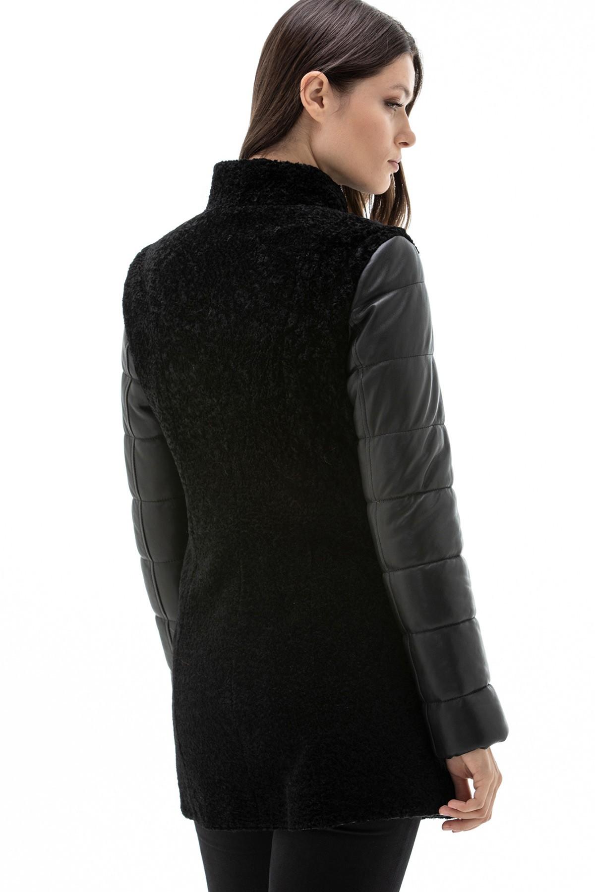 Gigi Hadid Black Leather Jacket