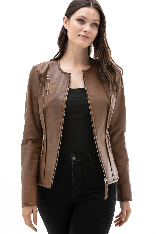 Wilson Leather Women's Moto Jacket