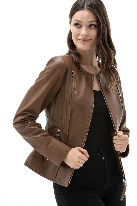 Calf Leather Jacket