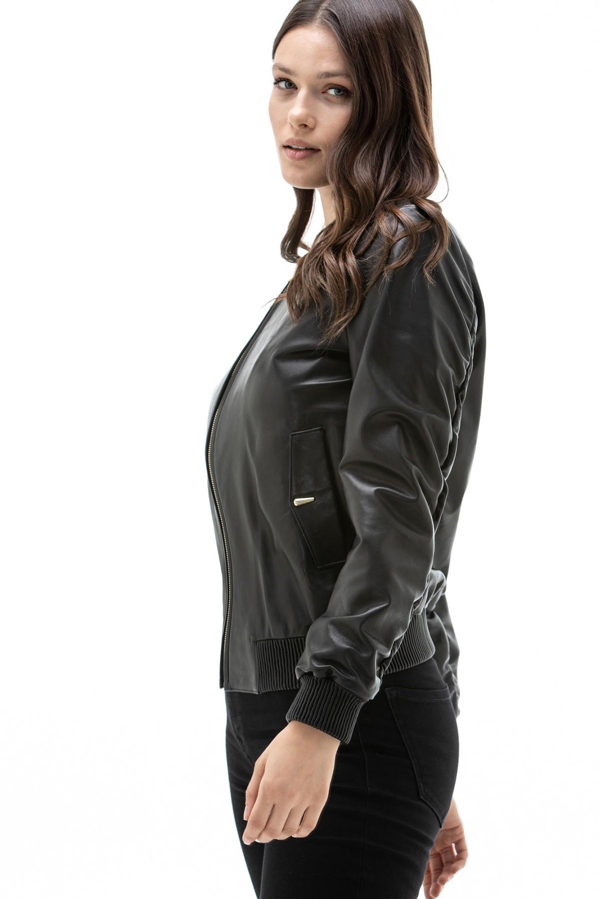 Black Long Leather Jacket
