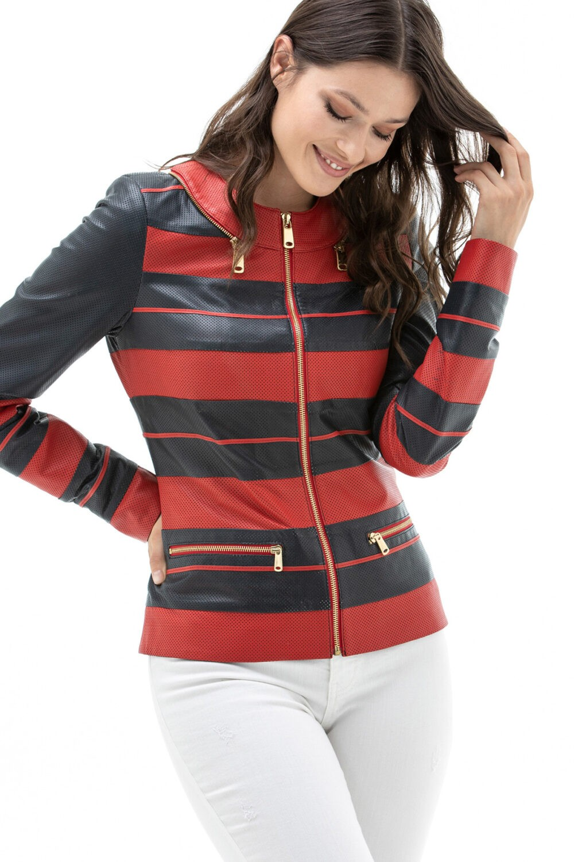 Paul Smith Leather Jacket Women's