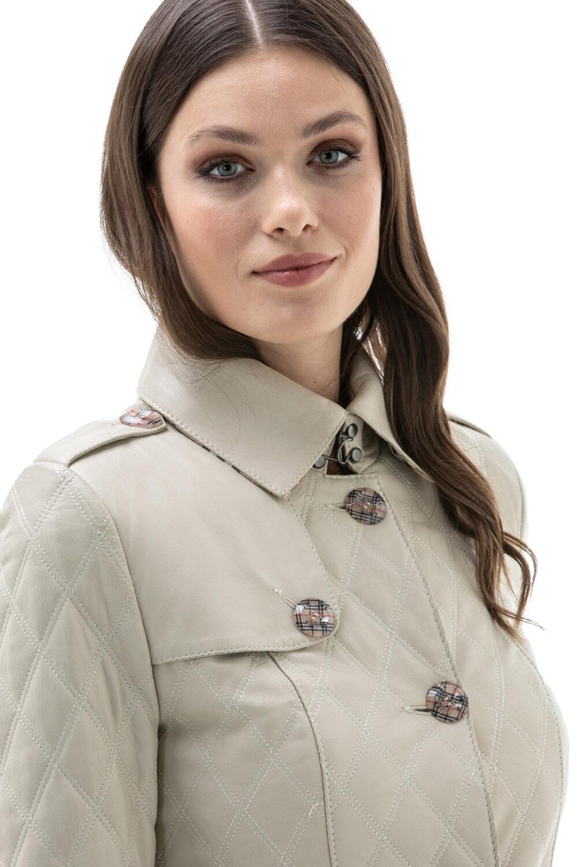Adriana Lima Leather Jacket