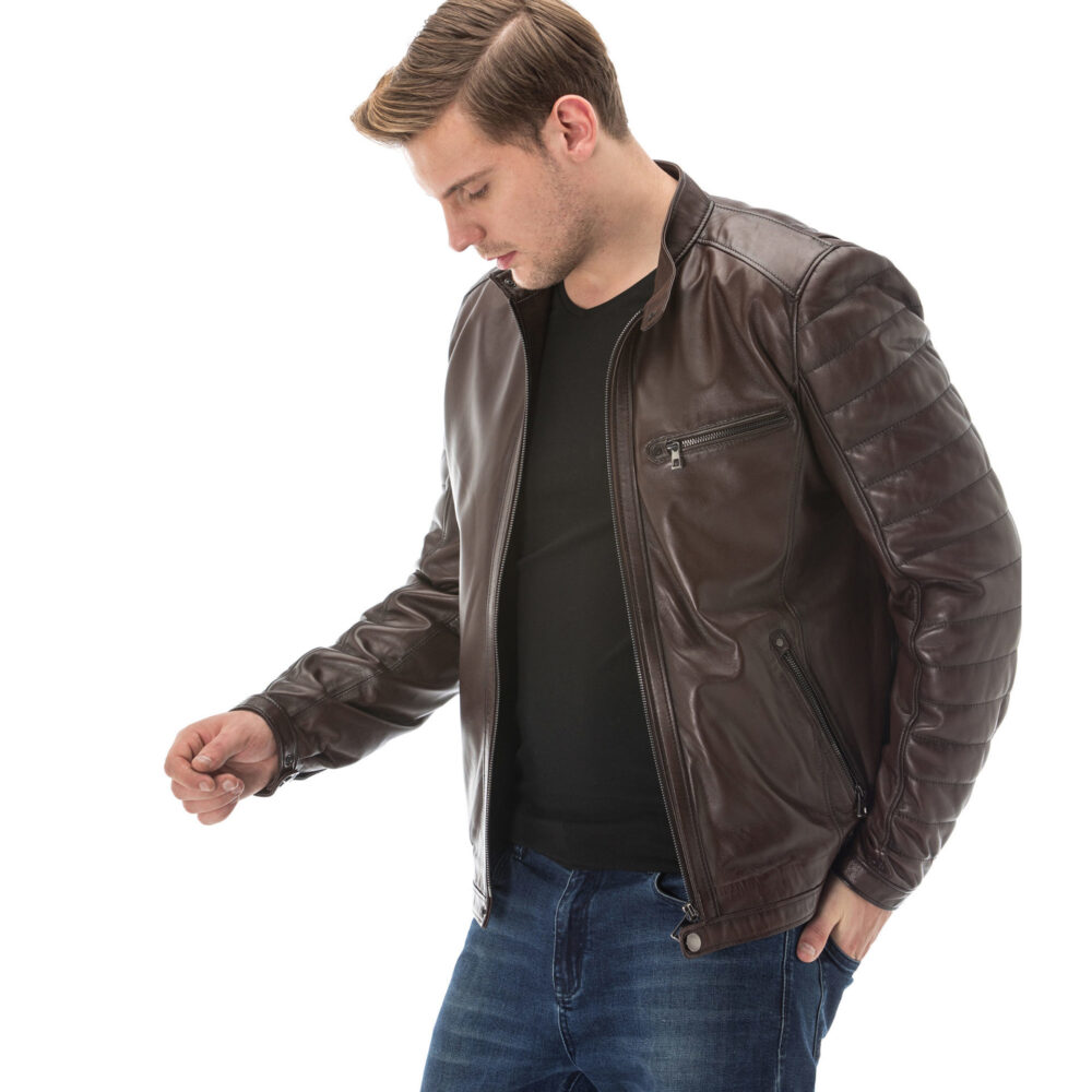 Leather Jacket Cheap Mens