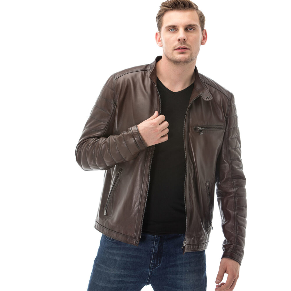 Dockers Lamb Leather Jacket