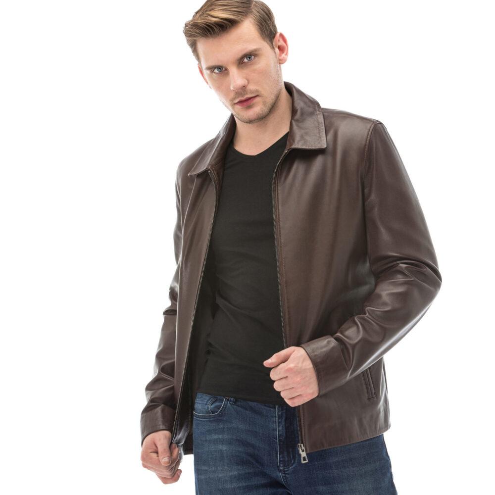 Mens Leather Blazer Jackets