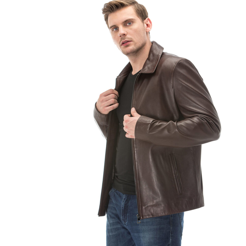 Everlane Mens Leather Jackets