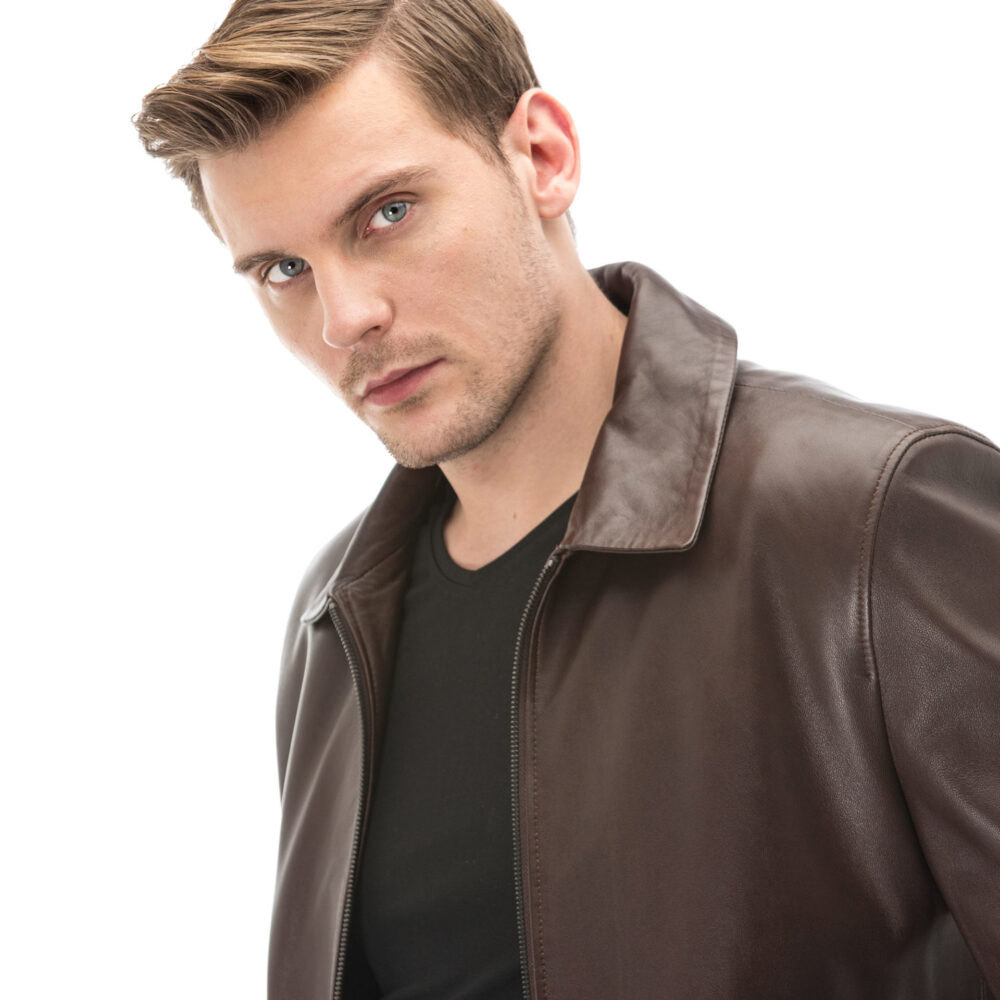 Mens Leather Coats On Sale