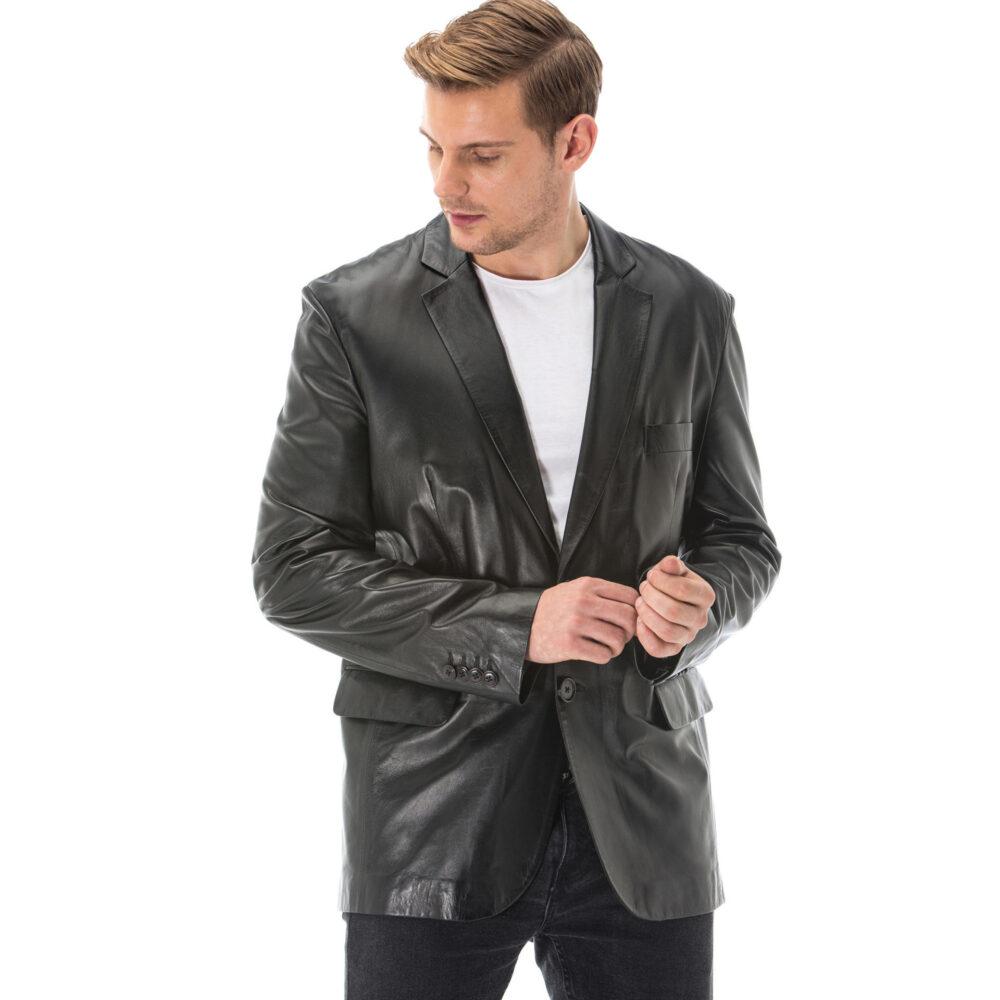 Madewell Mens Leather Jacket