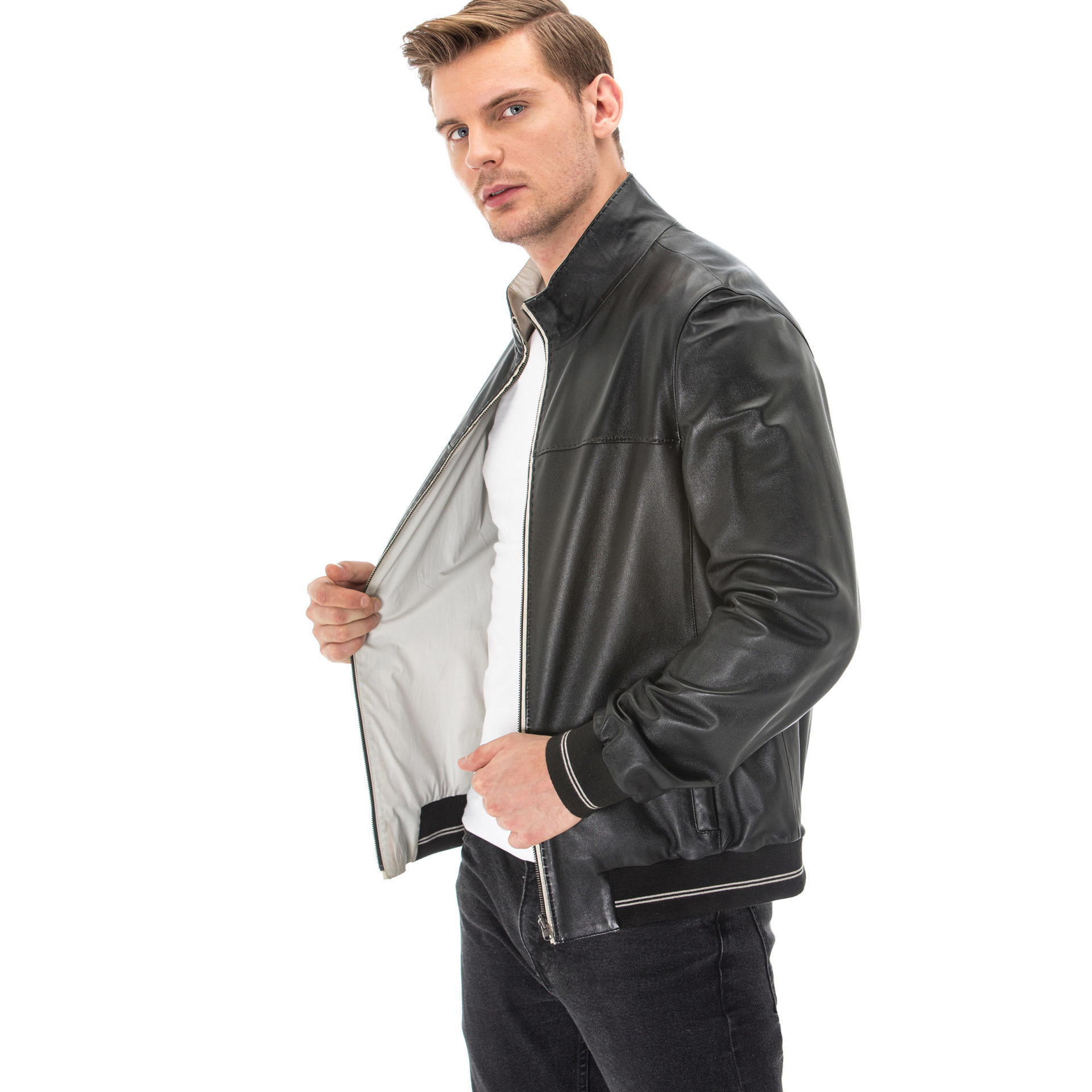 Mens Jackets Leather