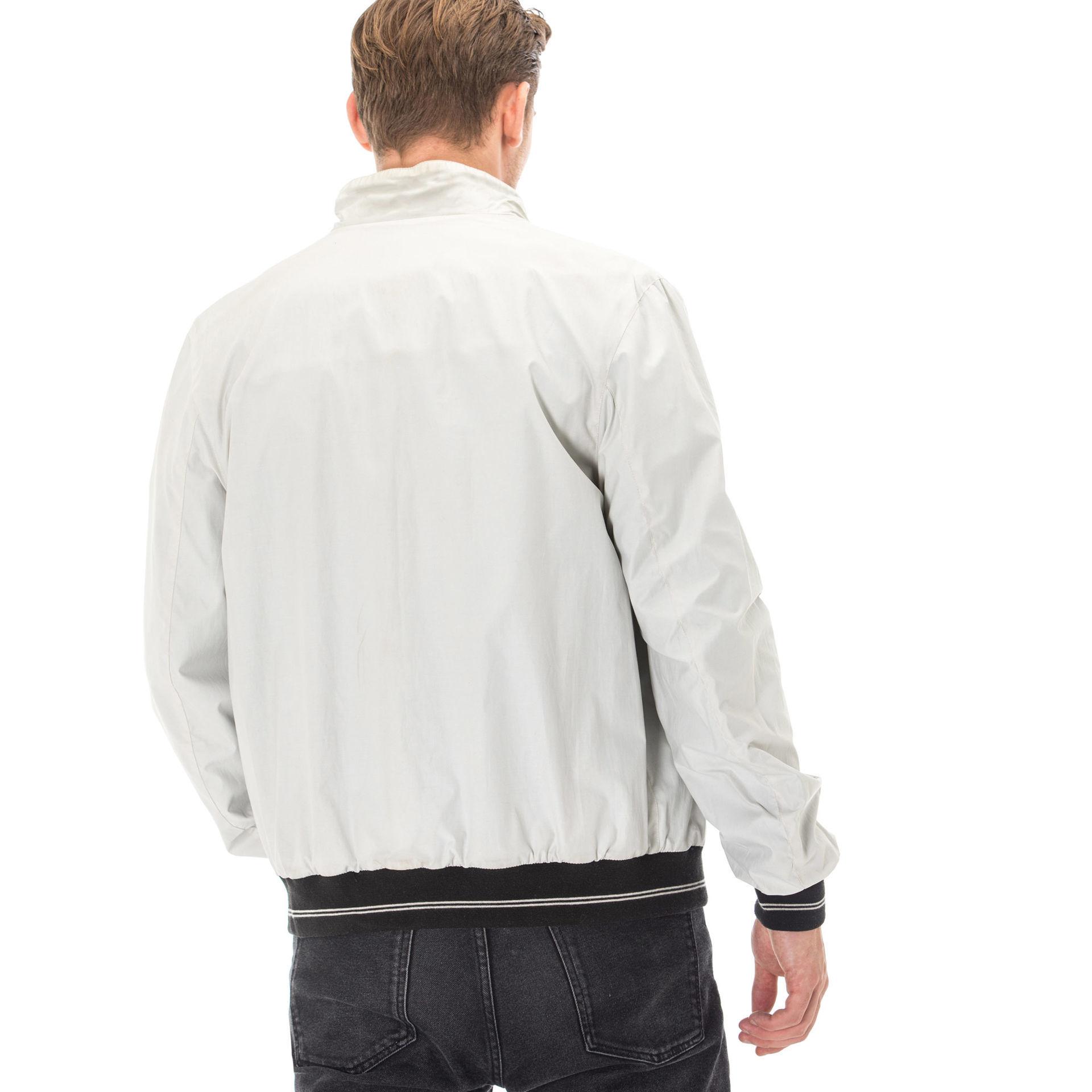 Fendi White Leather Jacket